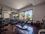サムイ島 チャウエンビーチのホテル : ザ ブリーザ ビーチ リゾート & スパ 「Fitness」