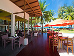 Restaurant : The Briza Beach Resort Khao Lak, Pool Access Room, Phuket