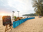 Beach : The Briza Beach Resort Khao Lak, Ocean View Room, Phuket