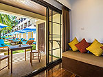 プーケット ファミリー&グループのホテル : ザ ブリーザ ビーチ リゾート カオラック(The Briza Beach Resort Khao Lak)のデラックス ウィズ テラスルームの設備 Terrace