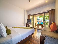 プーケット ファミリー&グループのホテル : ザ ブリーザ ビーチ リゾート カオラック(1)のお部屋「デラックス ウィズ テラス」