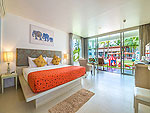 プーケット ファミリー&グループのホテル : ザ ブリーザ ビーチ リゾート カオラック(The Briza Beach Resort Khao Lak)のグランド デラックス ガーデンルームの設備 Bedroom