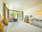 プーケット カオラックのホテル : ザ ブリーザ ビーチ リゾート カオラック(The Briza Beach Resort Khao Lak)のグランド デラックス ガーデンルームの設備 Bedroom