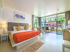 プーケット ファミリー&グループのホテル : ザ ブリーザ ビーチ リゾート カオラック(1)のお部屋「グランド デラックス ガーデン」