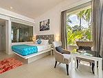 プーケット ファミリー&グループのホテル : ザ ブリーザ ビーチ リゾート カオラック(The Briza Beach Resort Khao Lak)のグランド デラックス ビーチフロントルームの設備 Bedroom