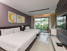 プーケット パトンビーチのホテル : ザ チャーム リゾート プーケット(1)のお部屋「デラックス」