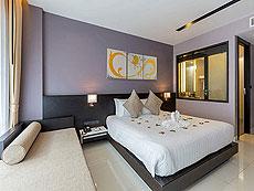 プーケット パトンビーチのホテル : ザ チャーム リゾート プーケット(1)のお部屋「デラックス プール アクセス」
