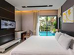 プーケット パトンビーチのホテル : ザ チャーム リゾート プーケット(The Charm Resort Phuket)のジュニアスイート プール アクセスルームの設備 Room View