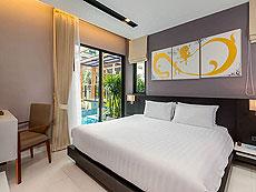 プーケット パトンビーチのホテル : ザ チャーム リゾート プーケット(1)のお部屋「ジュニアスイート プール アクセス」