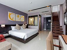 プーケット パトンビーチのホテル : ザ チャーム リゾート プーケット(1)のお部屋「ジュニア スイート」