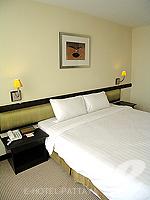 パタヤ シラチャーのホテル : ザ シティー ホテル シラチャ(The City Hotel Sriracha)のスーペリア(シングル)ルームの設備 Bedroom