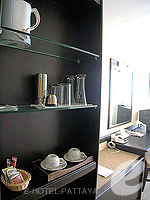 パタヤ シラチャーのホテル : ザ シティー ホテル シラチャ(The City Hotel Sriracha)のスーペリア(シングル)ルームの設備 Minibar