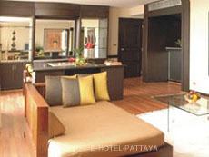 パタヤ シラチャーのホテル : ザ シティー ホテル シラチャ(1)のお部屋「プレジデンタル スイート(ツイン)」
