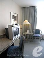 パタヤ シラチャーのホテル : ザ シティー ホテル シラチャ(The City Hotel Sriracha)のエグゼクティブ デラックス (シングル)ルームの設備 Bedroom