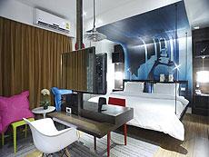プーケット 5,000円以下のホテル : ザ カラー ホテル(1)のお部屋「スタンダード」