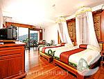 プーケット ヴィラコテージのホテル : ザ ダイヤモンド クリフ リゾート & スパ(The Diamond Cliff Resort & Spa)のスーパー デラックス(トリプル)ルームの設備 Room View