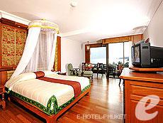 プーケット ヴィラコテージのホテル : ザ ダイヤモンド クリフ リゾート & スパ(1)のお部屋「スーパー デラックス(トリプル)」