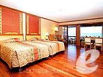 プーケット ヴィラコテージのホテル : ザ ダイヤモンド クリフ リゾート & スパ(The Diamond Cliff Resort & Spa)のダイアモンド スイート(シングル/ツイン)ルームの設備 Room View