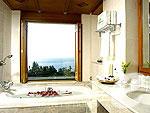 プーケット ヴィラコテージのホテル : ザ ダイヤモンド クリフ リゾート & スパ(The Diamond Cliff Resort & Spa)のダイアモンド スイート(シングル/ツイン)ルームの設備 Bath Room