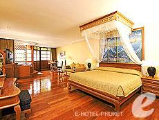 プーケット ヴィラコテージのホテル : ザ ダイヤモンド クリフ リゾート & スパ(1)のお部屋「オーシャン フロント スイート(シングル/ツイン)」