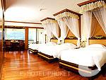 プーケット ヴィラコテージのホテル : ザ ダイヤモンド クリフ リゾート & スパ(The Diamond Cliff Resort & Spa)のオーシャン スイート(トリプル)ルームの設備 Room View