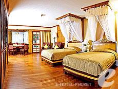 プーケット ヴィラコテージのホテル : ザ ダイヤモンド クリフ リゾート & スパ(1)のお部屋「オーシャン スイート(トリプル)」