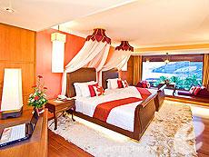 プーケット ヴィラコテージのホテル : ザ ダイヤモンド クリフ リゾート & スパ(1)のお部屋「ロマンティック スイート」