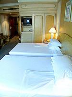 バンコク ファミリー&グループのホテル : ザ エメラルド ホテル(The Emerald Hotel)のスーペリアルームの設備 Bedroom