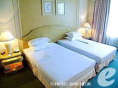 バンコク ファミリー&グループのホテル : ザ エメラルド ホテル(The Emerald Hotel)のお部屋「スーペリア」