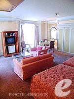 バンコク ファミリー&グループのホテル : ザ エメラルド ホテル(The Emerald Hotel)のデラックス ルームの設備 Bedroom