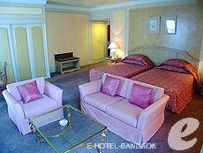 バンコク ファミリー&グループのホテル : ザ エメラルド ホテル(The Emerald Hotel)のお部屋「デラックス 」