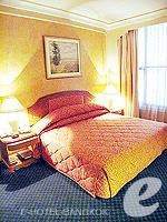 バンコク ファミリー&グループのホテル : ザ エメラルド ホテル(The Emerald Hotel)のジュニアスイートルームの設備 Bedroom