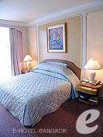 バンコク ファミリー&グループのホテル : ザ エメラルド ホテル(The Emerald Hotel)のエグゼクティブ スイートルームの設備 Bedroom