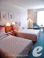 バンコク ファミリー&グループのホテル : ザ エメラルド ホテル(The Emerald Hotel)のエグゼクティブ スイートルームの設備 Living Area
