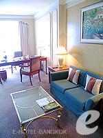 バンコク ファミリー&グループのホテル : ザ エメラルド ホテル(The Emerald Hotel)のエグゼクティブ スイートルームの設備 Writing Desk