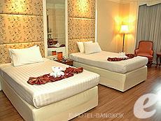 バンコク ファミリー&グループのホテル : ザ エメラルド ホテル(The Emerald Hotel)のお部屋「デラックス エグゼクティブ フロアー」