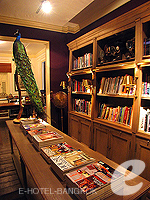 Library : The Eugenia Hotel Bangkok, Free Wifi, Phuket