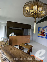 Reception : The Houben Hotel, Koh Lanta, Phuket