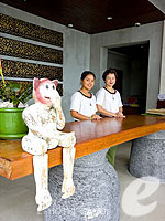 Reception : The Kala Samui, Pool Villa, Phuket