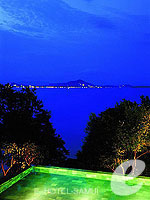 View at Night : The Kala Samui, Pool Villa, Phuket