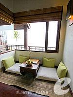 サムイ島 10,000~20,000円のホテル : ザ カラ サムイ(The Kala Samui)のデラックスルームの設備 Sitting Area