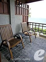 サムイ島 10,000~20,000円のホテル : ザ カラ サムイ(The Kala Samui)のデラックスルームの設備 Balcony