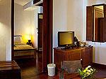 サムイ島 10,000~20,000円のホテル : ザ カラ サムイ(The Kala Samui)のデラックス スイート(2ベッドルーム)ルームの設備 Bedroom