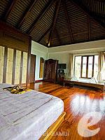 サムイ島 10,000~20,000円のホテル : ザ カラ サムイ(The Kala Samui)のデラックス プール ヴィラルームの設備 Bedroom