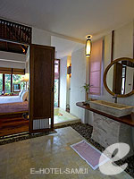サムイ島 10,000~20,000円のホテル : ザ カラ サムイ(The Kala Samui)のデラックス プール ヴィラルームの設備 Bath Room