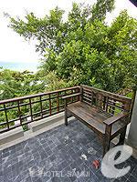 サムイ島 10,000~20,000円のホテル : ザ カラ サムイ(The Kala Samui)のデラックス プール ヴィラルームの設備 Balcony