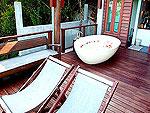 サムイ島 10,000~20,000円のホテル : ザ カラ サムイ(The Kala Samui)のプレジデンタル ヴィラ(2ベッドルーム)ルームの設備 Balcony