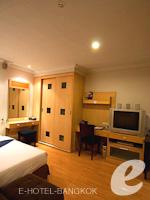バンコク カップル&ハネムーンのホテル : ザ キー スクンビット バンコク バイ コンパス ホスピタリティ(The Key Sukhumvit Bangkok by Compass Hospitality)のゴールドキー スーペリアルームの設備 Room View