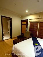 バンコク カップル&ハネムーンのホテル : ザ キー スクンビット バンコク バイ コンパス ホスピタリティ(The Key Sukhumvit Bangkok by Compass Hospitality)のゴールドキー スーペリアルームの設備 Bedroom