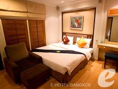 バンコク カップル&ハネムーンのホテル : ザ キー スクンビット バンコク バイ コンパス ホスピタリティ(The Key Sukhumvit Bangkok by Compass Hospitality)のお部屋「ゴールドキー スーペリア」